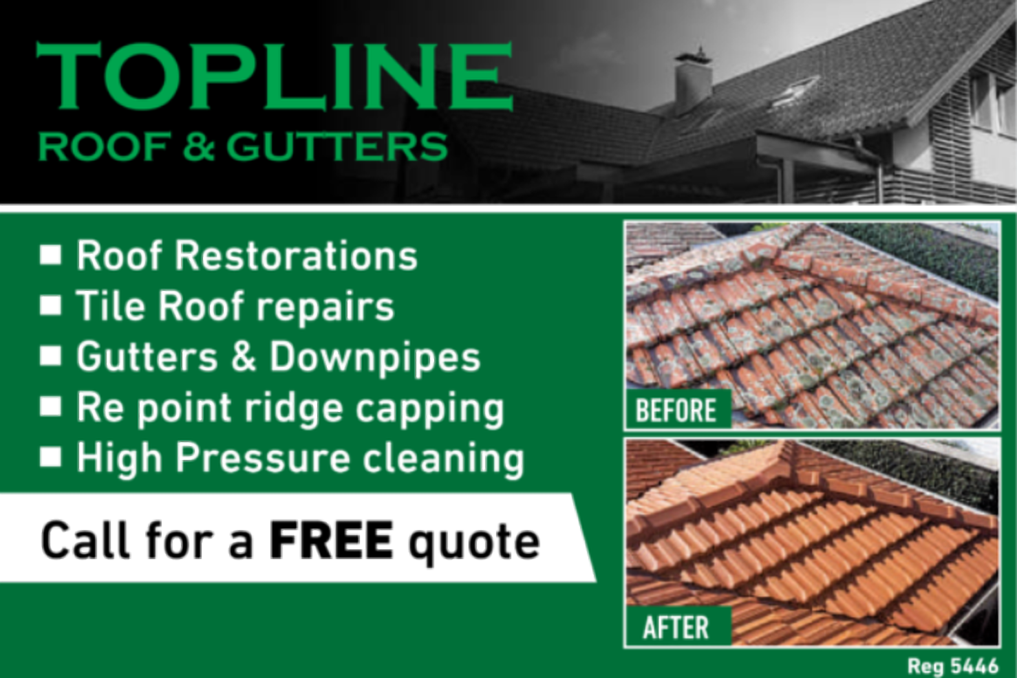 Topline Roof and Gutters